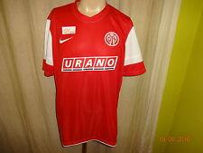 """FSV Mainz 05 Nike Junioren Spieler Version Trikot 2011/12 """"URANO"""" Gr.XL Neu"""