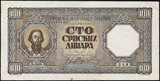 Ro.611 Besetzung Serbien 100 Dinar 1943 (3)