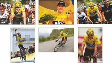 Chris froome Tour De France ganador 2013 Postal Set