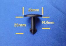 (2316) 10x Motorschutz Radhaus Unterfahrschutz Clips Befestigung Klips schwarz