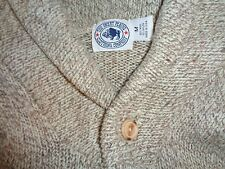 THE GREAT PLAINS CO. WOOL BLEND BUTTON COLLAR PULLOVER SWEATER M USA MADE