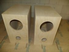 Speaker box for Fostex FE126E pair,  Bass Reflex Type