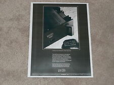Mark Levinson No 23 Amplfier Ad, Dual Mono, Article, 1 page, ready to frame