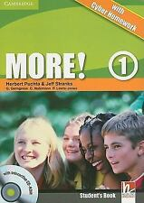 More! Level 1 Student's Book with Interactive CD-ROM with Cyber Homework by...