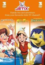 Peter Pan/Huckleberry Finn/Pinocchio (DVD, 2007, 3-Disc Set)
