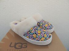UGG AIRA LIBERTY ANTIQUE WHITE SHEEPSKIN SLIPPERS,  WOMEN US 10/ EUR 41 ~ NIB