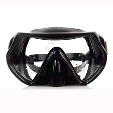 Sport Scuba Snorkeling Dive Mask Tempered Glass Lenses Snorkel Adult Goggles