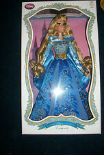 "Disney Limited Edition Deluxe 17"" Aurora Sleeping Beauty Blue Dress Doll"
