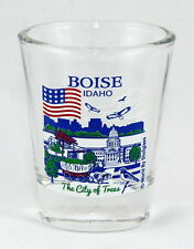 BOISE IDAHO GREAT AMERICAN CITIES COLLECTION SHOT GLASS SHOTGLASS