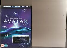 AVATAR EXTENDED COLLECTORS EDITION DVD 3 DISC SET WORTHINTON CAMERON
