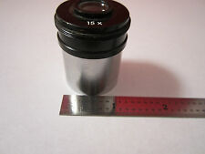 MICROSCOPE OPTICAL PART OBJECTIVE NIKON 15X OPTICS BIN#-DWR-SS1