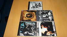 Job Lot of 5 x Oi! CD's - (The Business, Smelly Anchors Beerzone Adulescents UK)