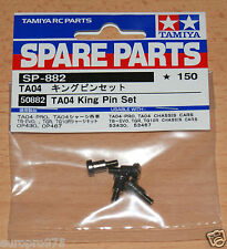 Tamiya 50882 TA04 King Pin Set (TNS/M05/M06/TGR/TA05/DF03/MF-01X/High Lift) NIP