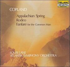 NEW - Copland: Fanfare, Rodeo & Appalachian Spring by Lane/ASO