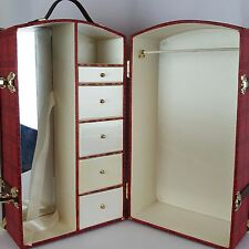 "Tonner BRENDA STARR Wardrobe Doll Trunk Case for 16"" Doll and Accessories"
