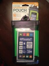 NWT Travelon Waterproof Smart Phone/ Digital Camera Floating Pouch Green