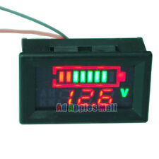 Universal 12-70V Acid Lead Battery Indicator Capacity Digital Tester Voltmeter