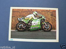 VDH8-069 GEORGE FOUGERAY KAWASAKI 1000CC FOUR  MOTO GP PICTURE STAMP ALBUM CARD,