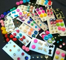 Wholesale Jewelry Lot - New Stud Earrings 100 pairs FREE SHIPPING  #US Seller ��