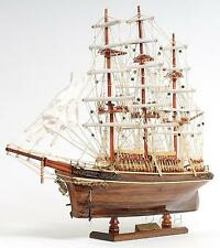 """22"""" CUTTY SARK Handcrafted Wooden Model Boat"""