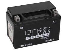 Batterie Moto Au Gel Pret à l'emploi SLA 12-8 12V 8Ah Etanche Equi YTX9-BS