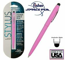 Fisher #M4 Series Pink Space Pen with Conductive Stylus - #SM4PKCT/S