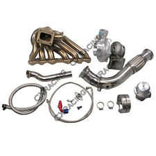 CXRacing Turbo Manifold Downpipe Kit For Toyota Tacoma Truck 2JZ-GTE Swap 2JZGTE