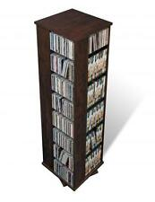Prepac Four Sided Spinner, holds 1060 CDs in Espresso EMS-1060-K New