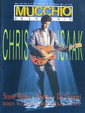MUCCHIO 141 1989 Chris Isaak Soundgarden Stone Roses Feelies De Gregori Bennato