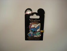 Disney Pin Trading Nurses Day 2013 Stitch Scrump Clipboard RN Limited Edition