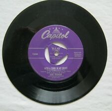 With A Song In My Heart b/w I'll Walk Alone Jane Froman  45 Capitol F2044 VG+