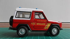 Mercedes Benz G Class Red Diecast Car Cararama Toy Off Road Fire For Scalextric