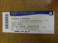 20/01/2011 Ticket: Chelsea Youth v Arsenal Youth [FA Youth Cup] . Thanks for vie