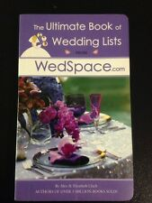 The Ultimate Book of Wedding Lists from WedSpace.Com by Alex A. Lluch (Brand New