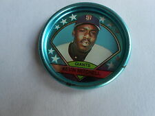 Vintage 1990 Topps Baseball Cards San Francisco Giants Kevin Mitchell Token Coin