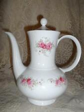 Vntg Bavarian Porcelain Seltmann Weiden W.Germany Annabell Roses Coffee Tea Pot