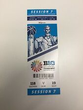 2017 Big Ten Tournament Championship Ticket Stub