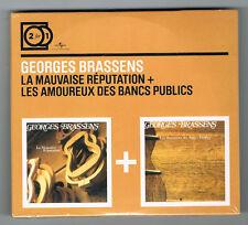 GEORGES BRASSENS - LA MAUVAISE RÉPUTATION + LES AMOUREUX DES BANCS... - NEUF