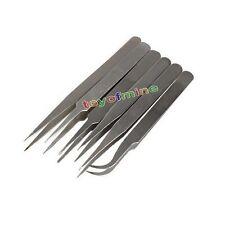6x Industrial Anti-estática Pinzas Acero Herramienta kit TS10-15