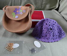 AMERICAN GIRL JULIE RETIRED  ACCESSORIES -COMPLETE - NEW IN ORIG BOX