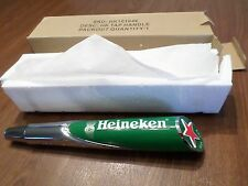 "New in Box Heineken Red Star 11"" Beer Keg Tap Handle Marker Shift Knob"