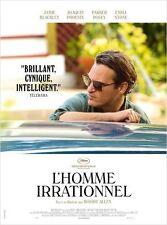 Affiche 40x60cm L'HOMME IRRATIONNEL 2015 Joaquin Phoenix, Emma Stone