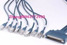 8 RJ45 Cisco CAB-OCTAL-ASYNC 1M CABLE for CISCO 2509 2511 2600 NM-16A NM-32A zh8