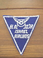 El Al Israel Airlines cloth Patch