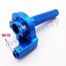Blue Handle Throttle Assembly For Yamaha YZ100 YZ125 YZ250 Pit Dirt Bikes