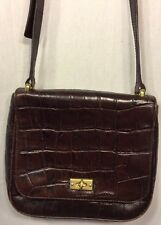 Fossil Vintage Crocodile Leather Purse