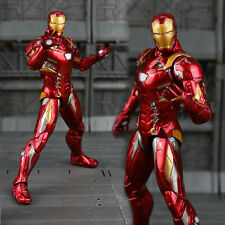 Marvel Captain America Civil War Iron Man PVC Action Figure Collectible toy