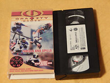 Gravity Games: Thrills and Spills (VHS, 2000) Free Ship.) EXTREME SPORTS) OOP)