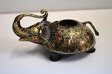 Teelichthalter - Kerzenhalter - Elefant, indisch, orientalisch, handbemalt