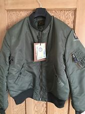 Buzz Rickson MA 1 Flight Jacket Size 44-XXL